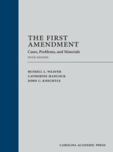 The First Amendment book jacket