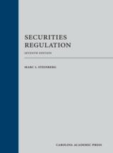 Securities Regulation book jacket