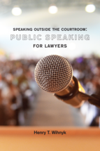 Speaking Outside the Courtroom book jacket