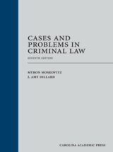 Cases and Problems in Criminal Law book jacket