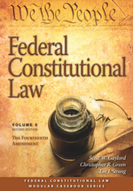 Federal Constitutional Law (Volume 5) book jacket