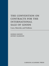 The Convention on Contracts for the International Sale of Goods book jacket