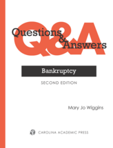 Questions & Answers: Bankruptcy book jacket