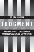 Judgment book jacket
