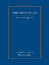 Forensic Evidence in Court book jacket
