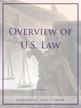 Overview of U.S. Law book jacket