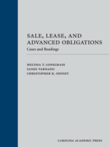 Sale, Lease, and Advanced Obligations book jacket
