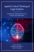 Applied Critical Thinking and Legal Analysis book jacket