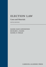 Election Law book jacket