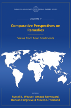 Comparative Perspectives on Remedies, The Global Papers, Volume V