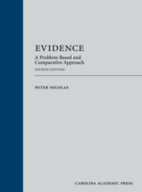 Evidence book jacket