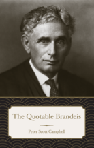 The Quotable Brandeis book jacket