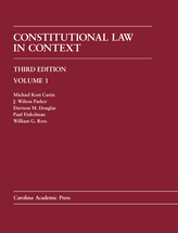 Constitutional Law in Context, Volume 1 (Paperback Printing), Third Edition
