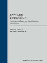 Law and Education book jacket