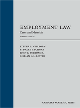 Employment Law book jacket
