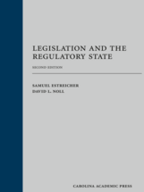 Legislation and the Regulatory State book jacket