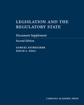 Legislation and the Regulatory State Document Supplement book jacket