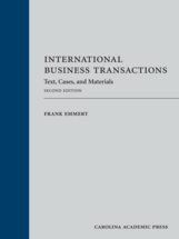 International Business Transactions, Second Edition