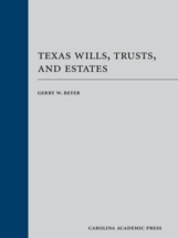 Texas Wills, Trusts, and Estates book jacket