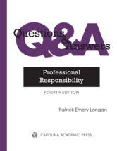 Questions & Answers: Professional Responsibility book jacket