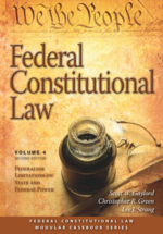 Federal Constitutional Law (Volume 4) book jacket