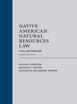 Native American Natural Resources Law book jacket