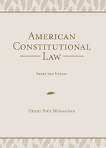 American Constitutional Law book jacket