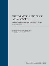 Evidence and the Advocate book jacket