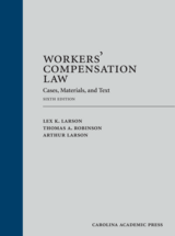 Workers' Compensation Law book jacket