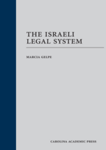 The Israeli Legal System book jacket