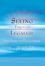Seeing Through Legalese book jacket
