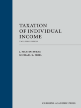 Taxation of Individual Income book jacket