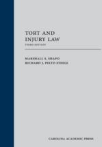 Tort and Injury Law book jacket