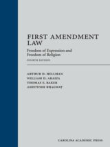 First Amendment Law book jacket