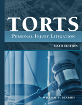 Torts book jacket