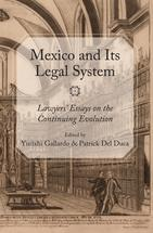 Mexico and Its Legal System book jacket