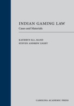 Indian Gaming Law (Paperback) book jacket