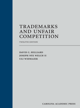 Trademarks and Unfair Competition book jacket