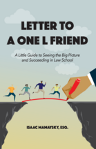 Letter to a One L Friend book jacket