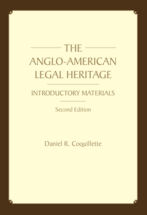 The Anglo-American Legal Heritage (Paperback), Second Edition