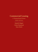 Commercial Leasing, Third Edition