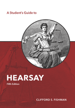 A Student's Guide to Hearsay book jacket