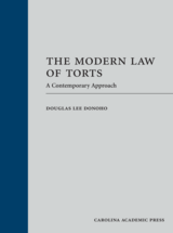 The Modern Law of Torts