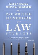 The Pre-Writing Handbook for Law Students book jacket