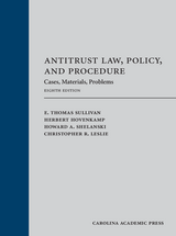 Antitrust Law, Policy, and Procedure, Eighth Edition