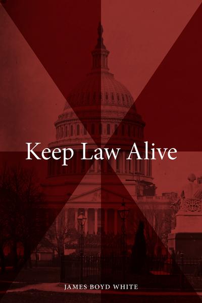 Keep Law Alive book jacket