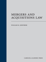 Mergers and Acquisitions Law (Paperback)