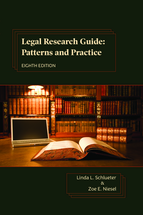 Legal Research Guide book jacket