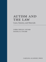 Autism and the Law (Paperback) book jacket