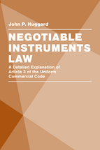 Negotiable Instruments Law book jacket